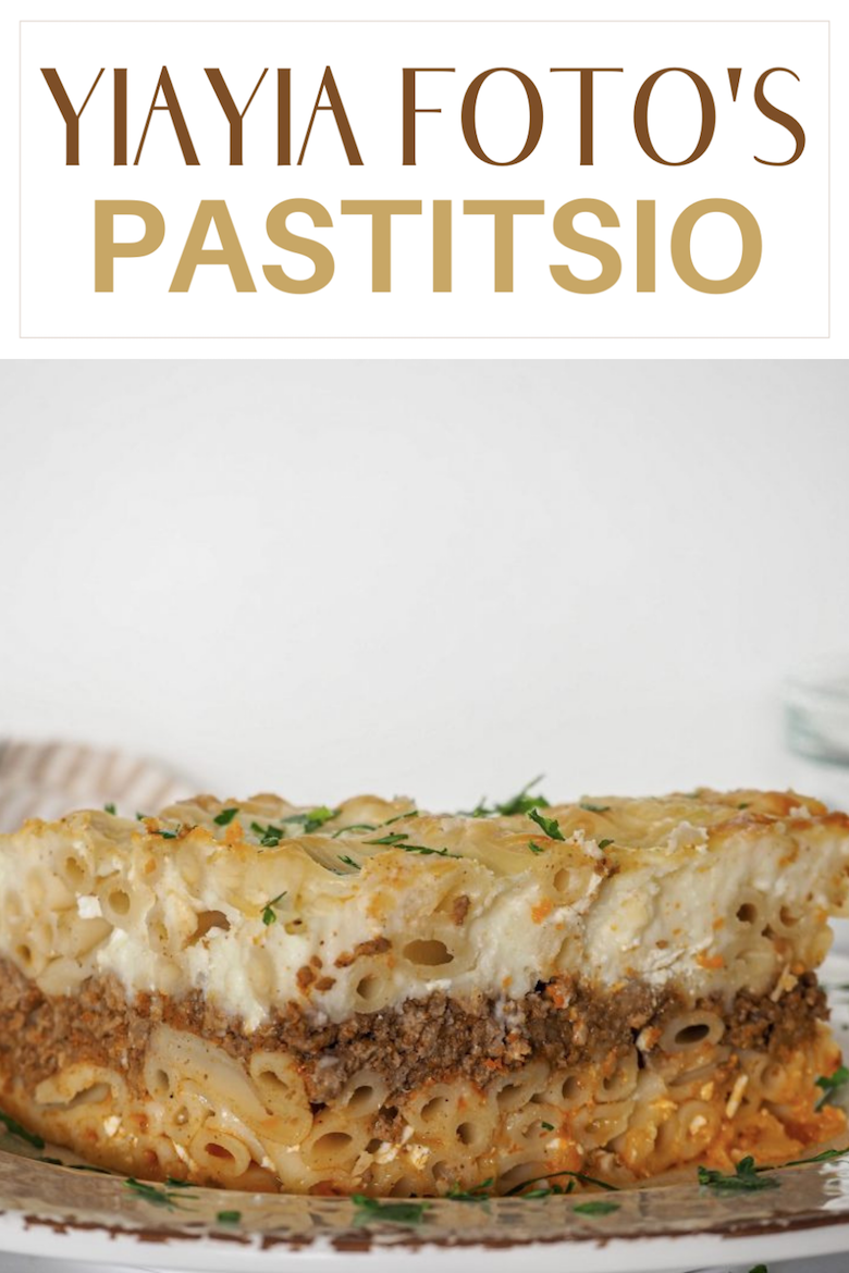 There's nothing quite like an authentic Pastitsio. Serve this at a family get together, and your dish will definitely be the hit of the evening! via @CookLikeaGreek