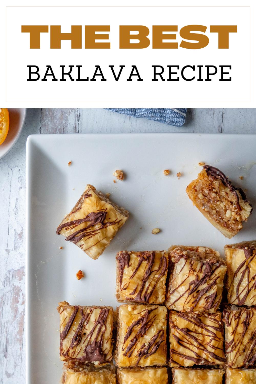 Theo Alex's Best Baklava Recipe via @CookLikeaGreek