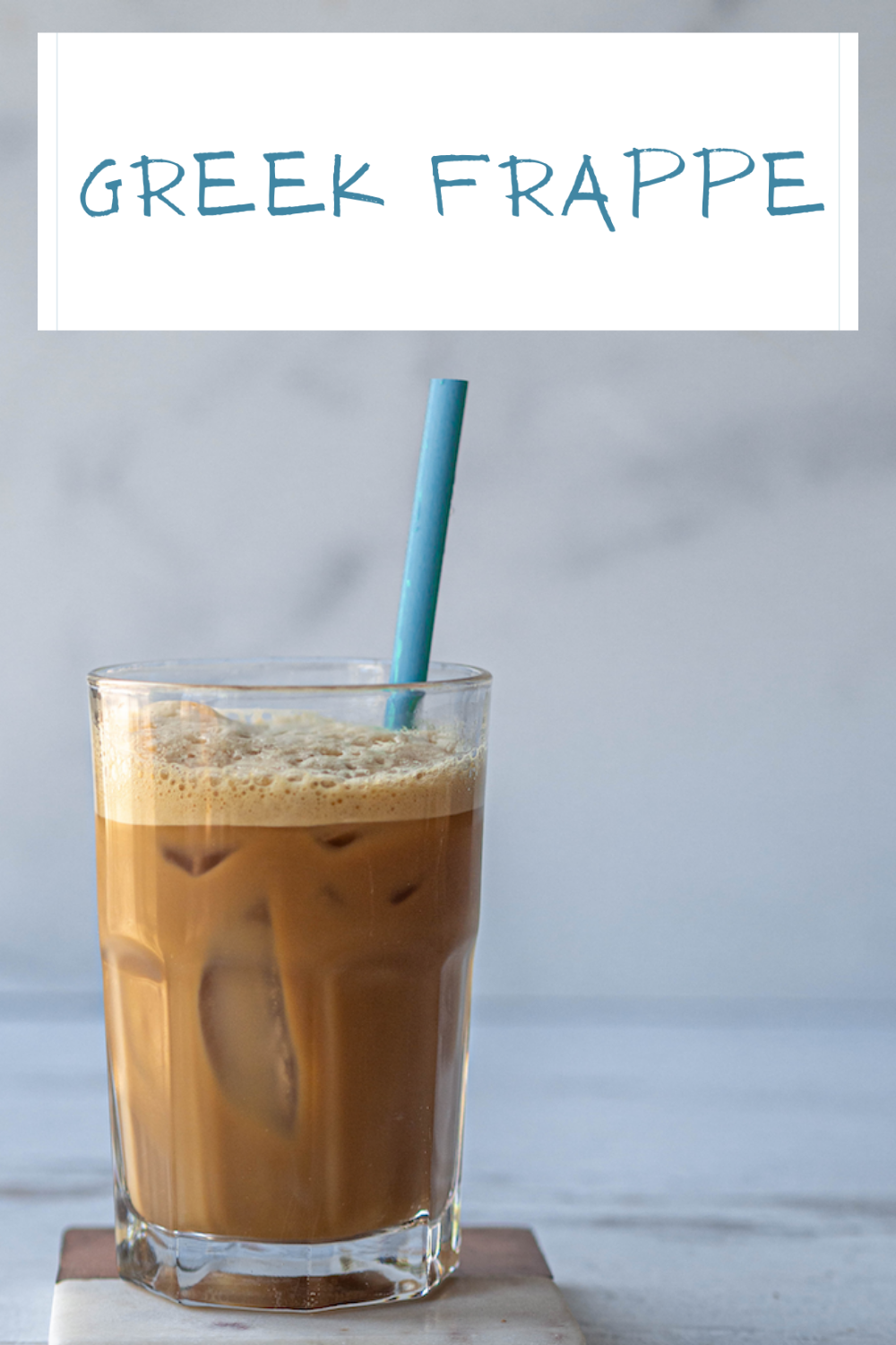 Wondering how to make a greek frappe? This yummy treat takes just a few ingredients and less than 5 minutes. via @CookLikeaGreek